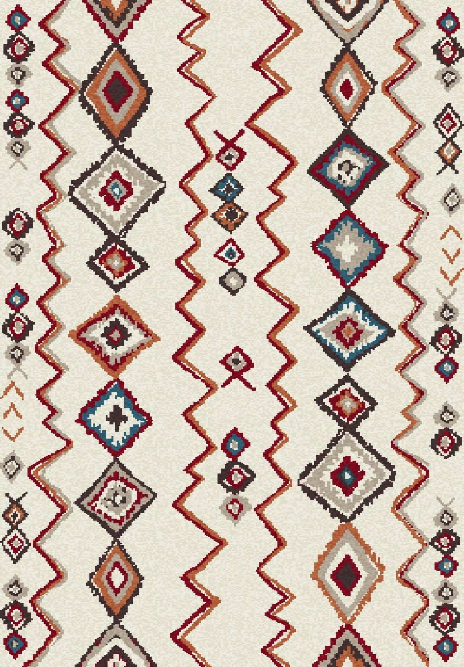 Dynamic Rugs Nomad Global Ivory/multi 6228 Area Rug