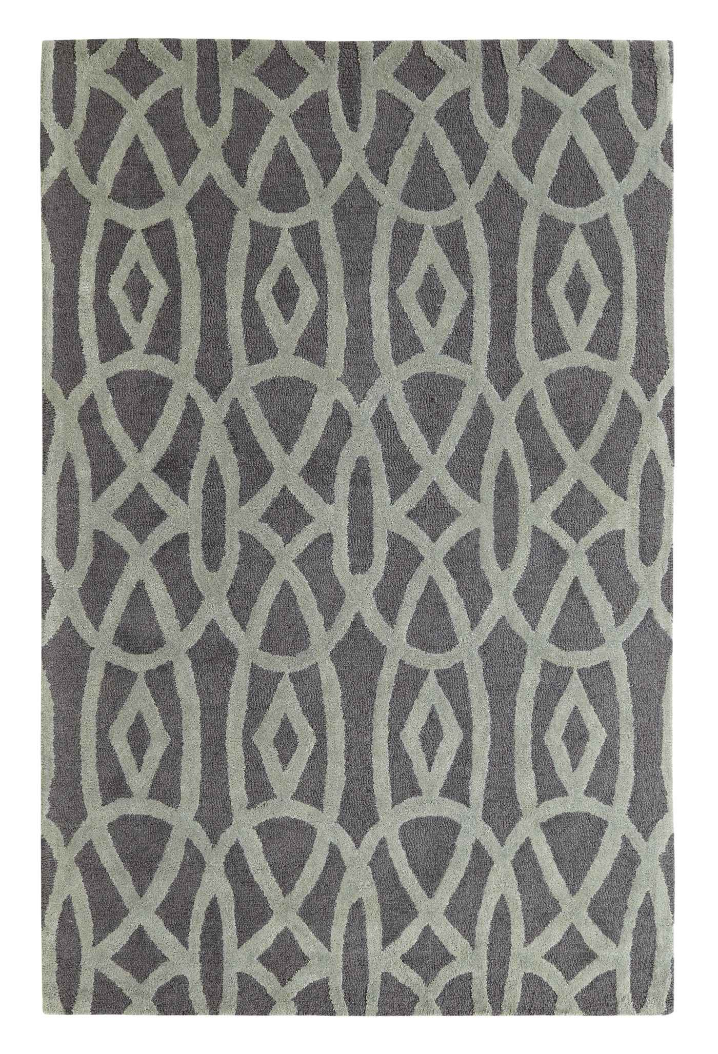 Dynamic Rugs Palace Geometric Grey 5570 Area Rug