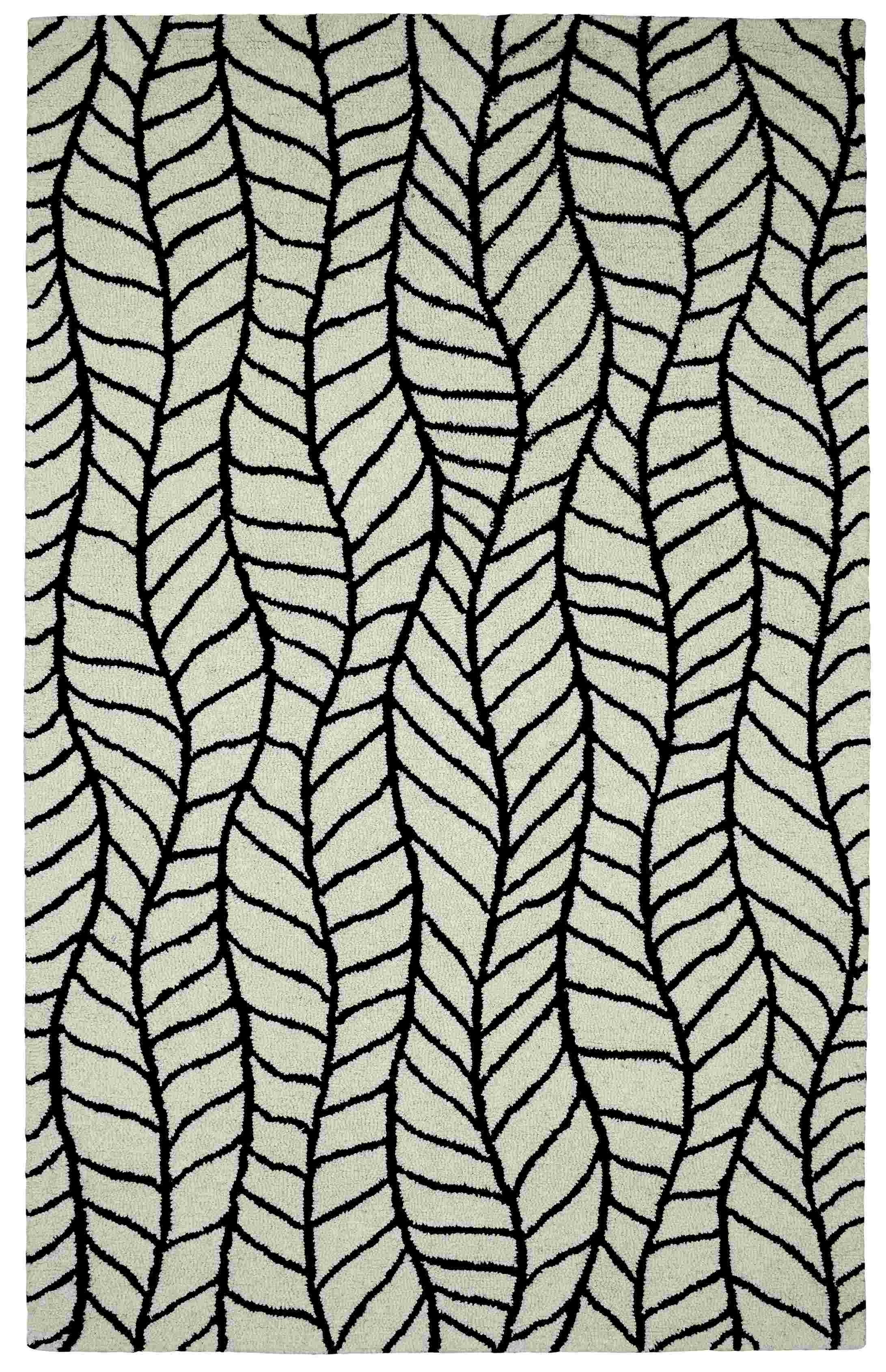 Dynamic Rugs Palace Modern Black/white 5579 Area Rug