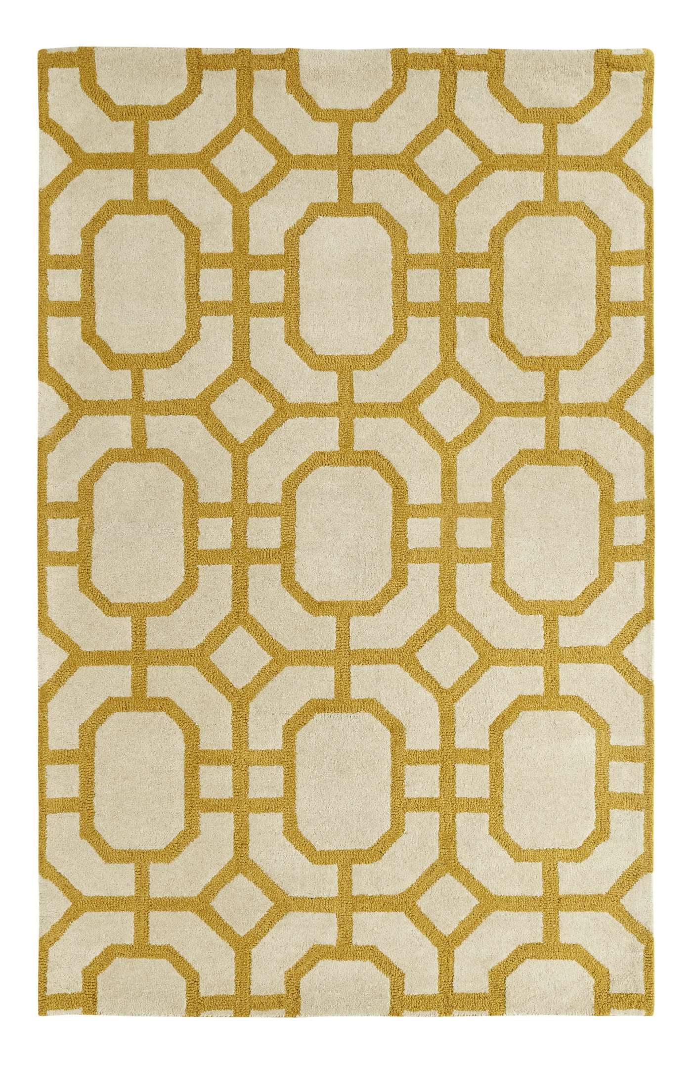 Dynamic Rugs Palace Geometric Ivory/yellow 5599 Area Rug
