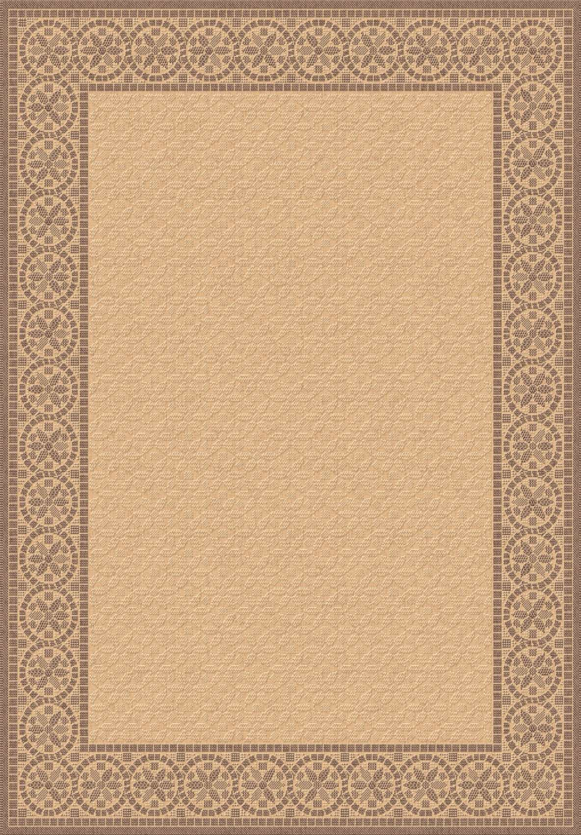 Dynamic Rugs Piazza Medallion/damask Brown 2745 Area Rug
