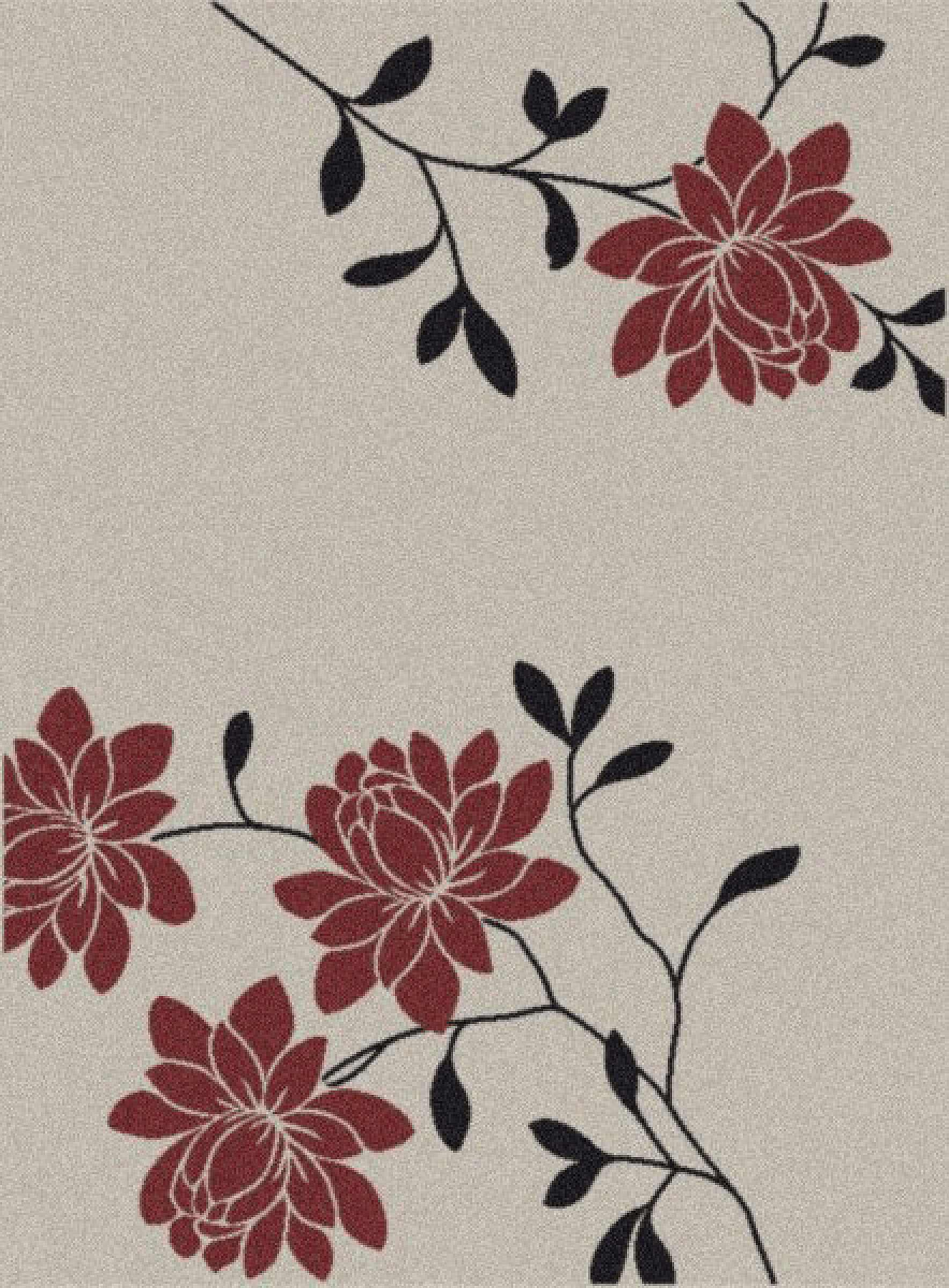 Dynamic Rugs Piazza Floral Cream 3422 Area Rug