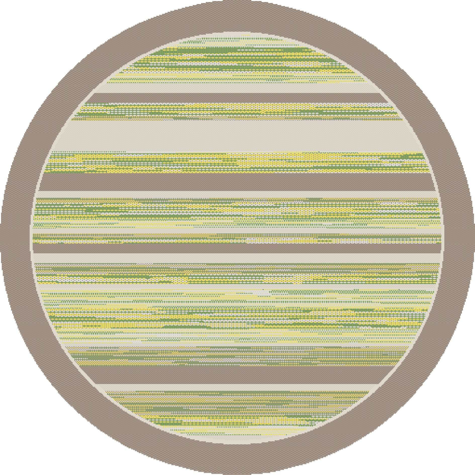 Dynamic Rugs Piazza Modern Green/brown 5146 Area Rug