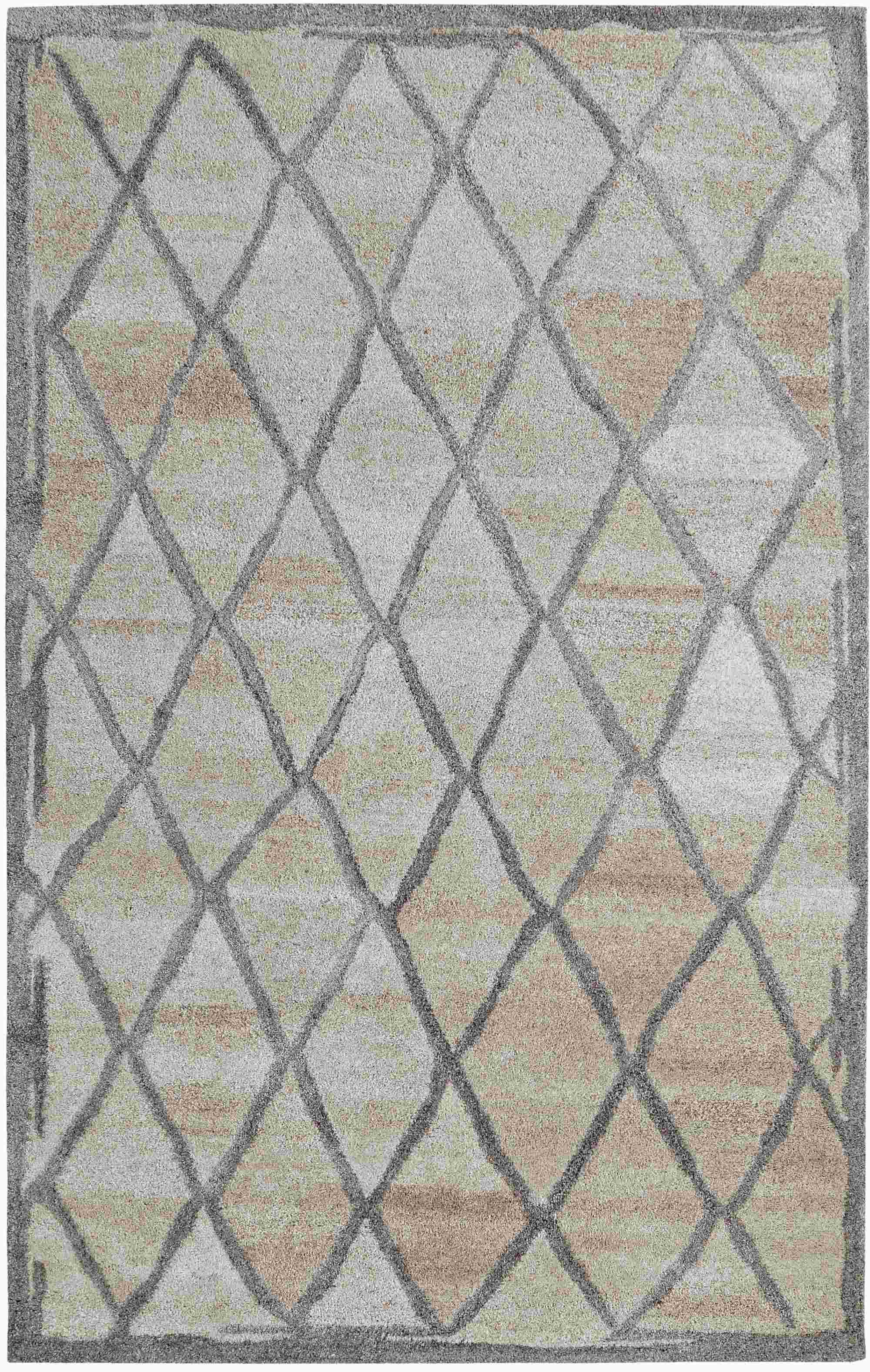 Dynamic Rugs Posh Geometric Grey 7801 Area Rug