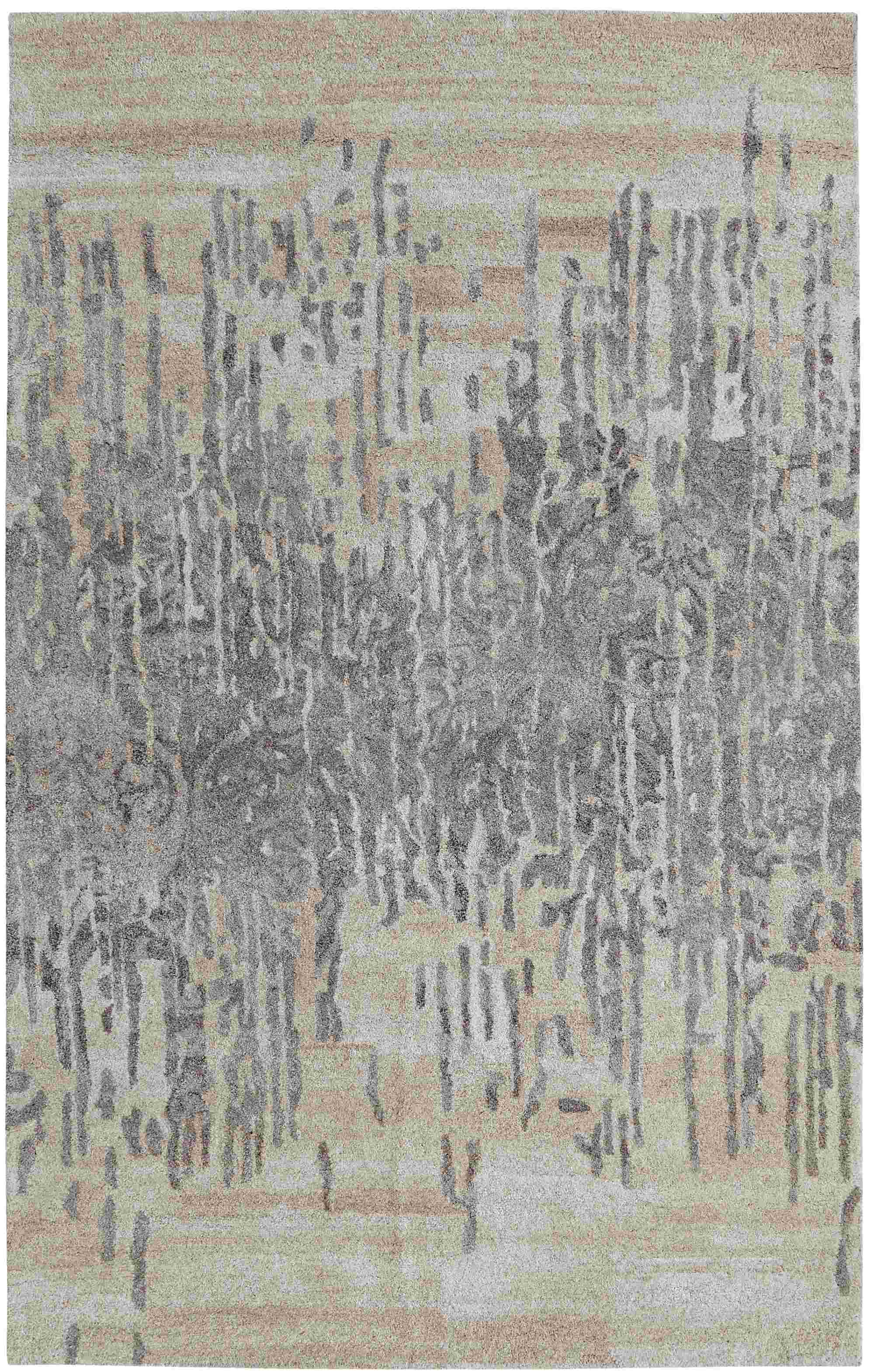 Dynamic Rugs Posh Modern Grey 7803 Area Rug