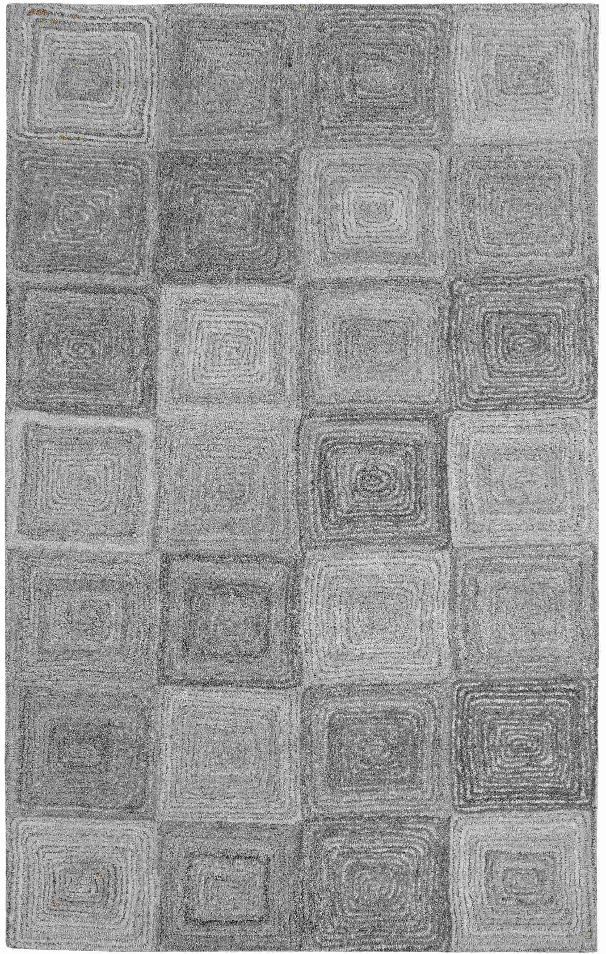 Dynamic Rugs Posh Geometric Grey 7805 Area Rug