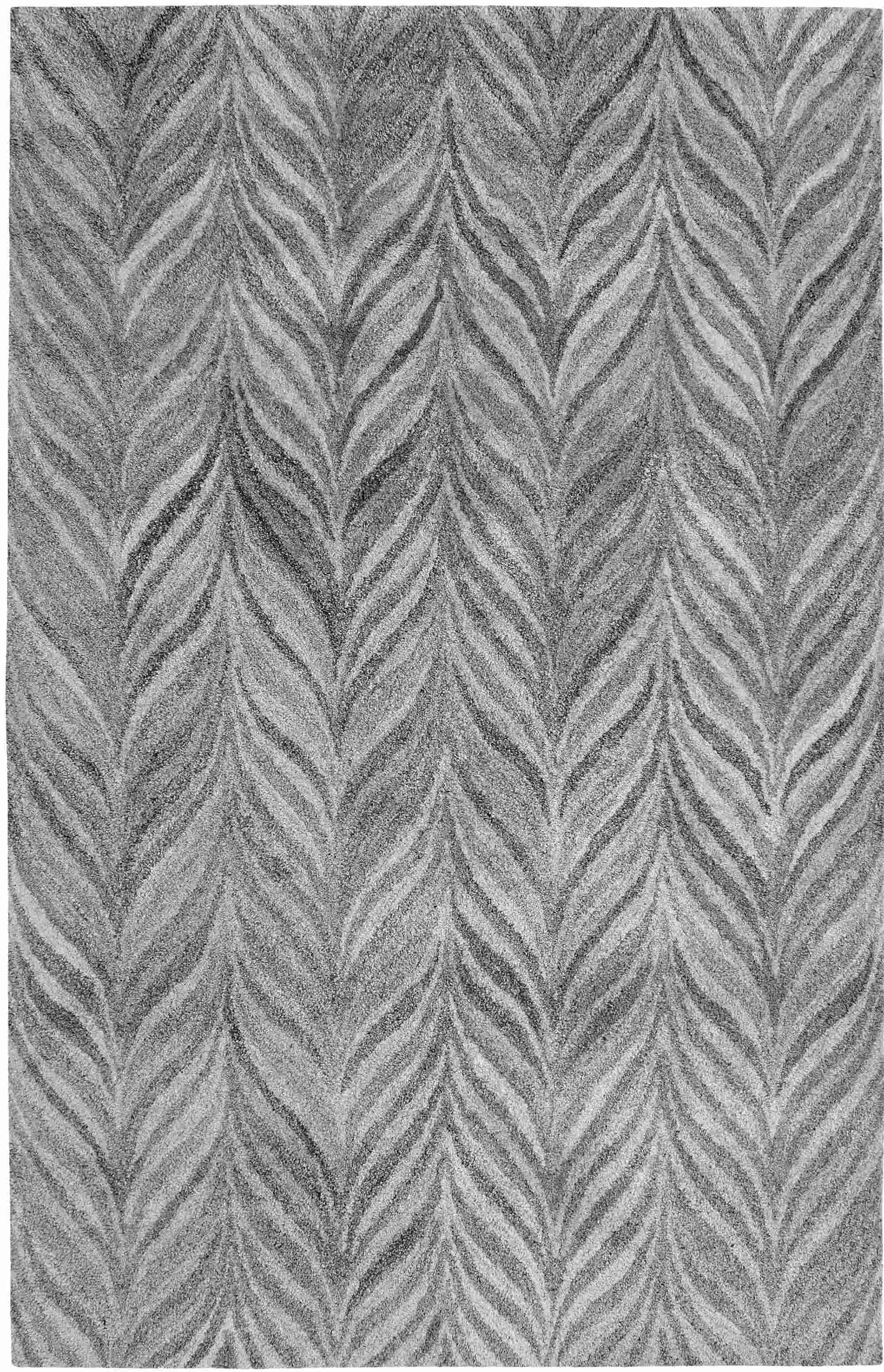 Dynamic Rugs Posh Modern Grey 7806 Area Rug