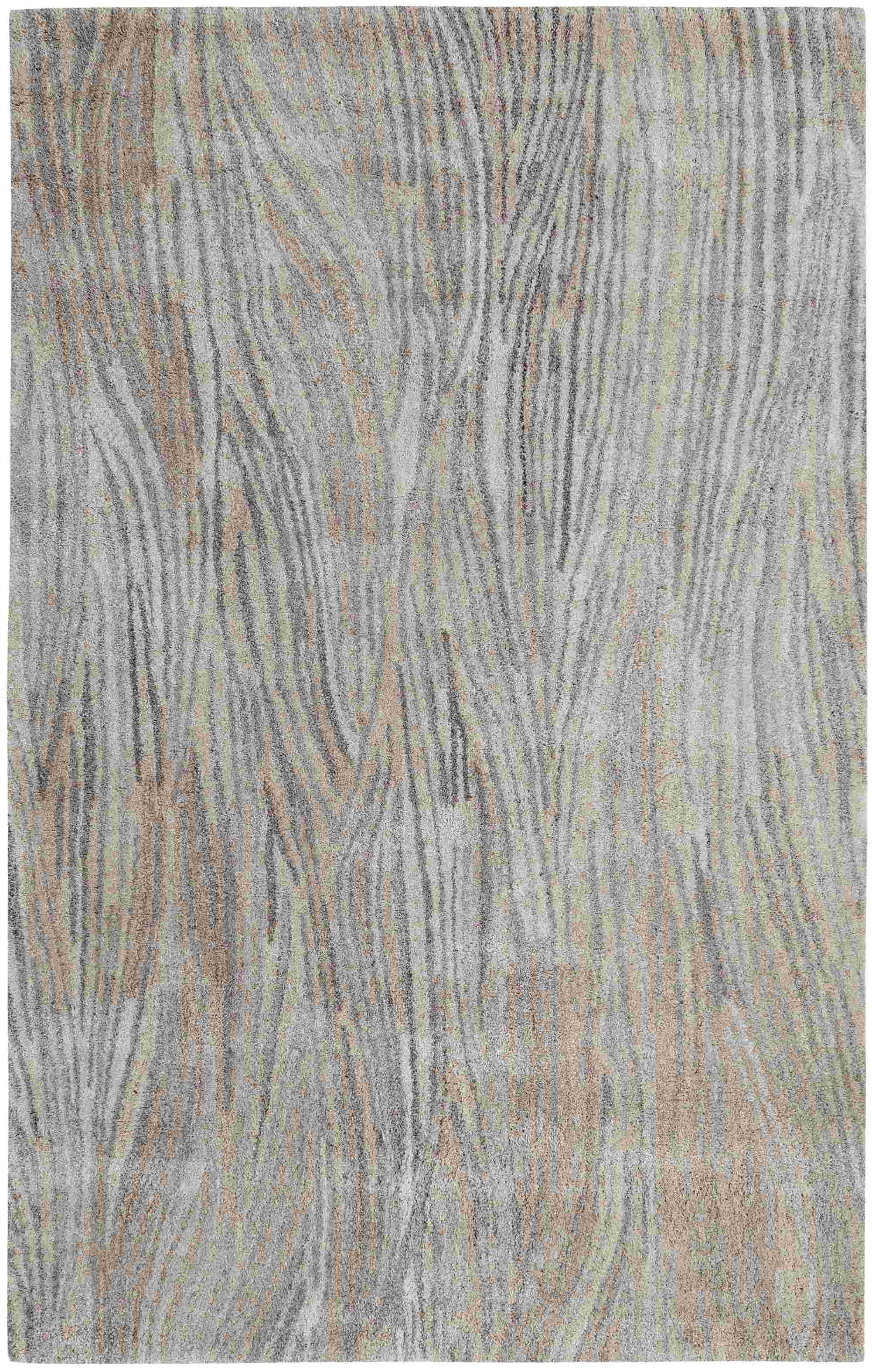 Dynamic Rugs Posh Modern Grey 7807 Area Rug
