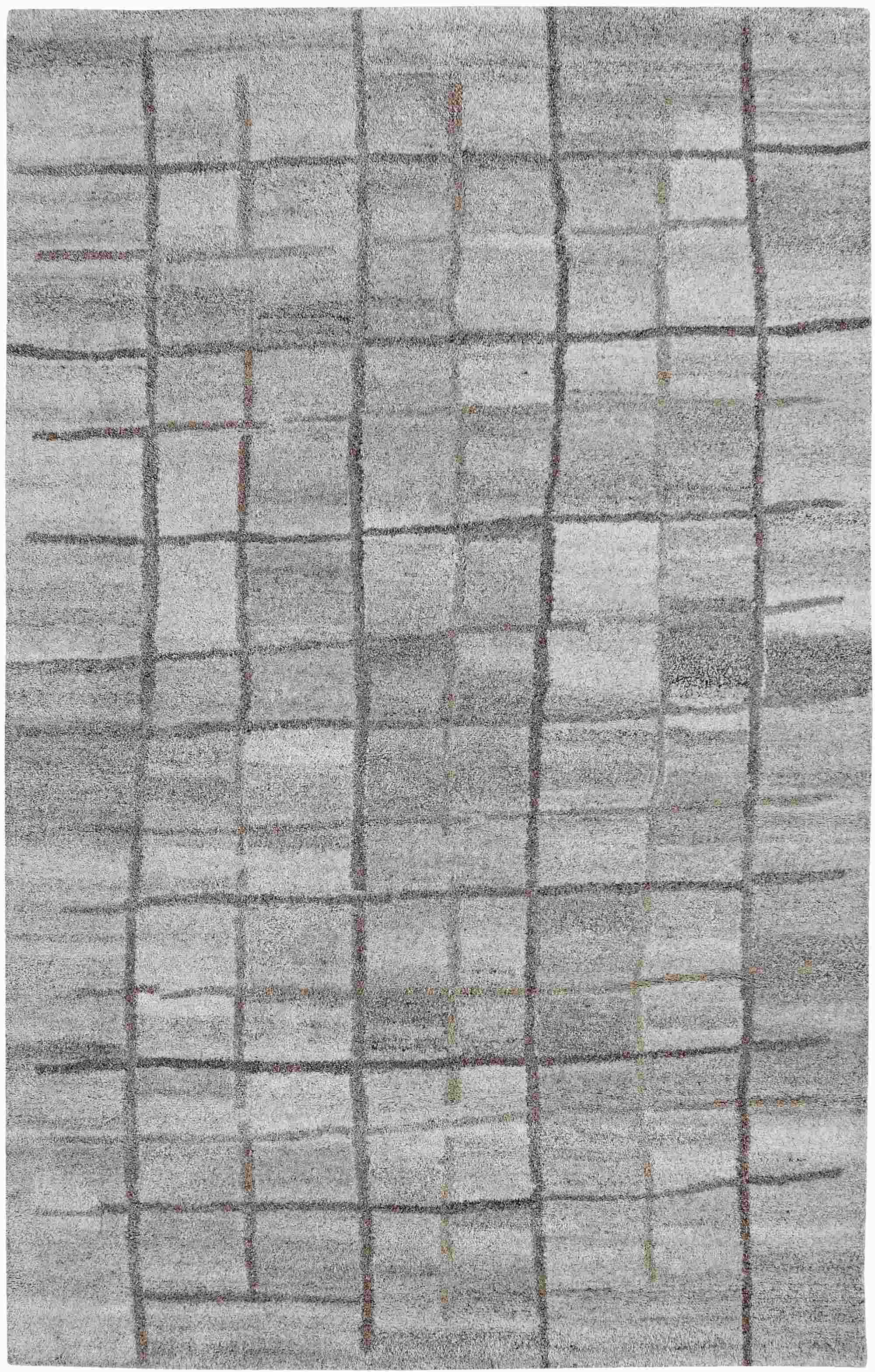 Dynamic Rugs Posh Modern Grey 7809 Area Rug