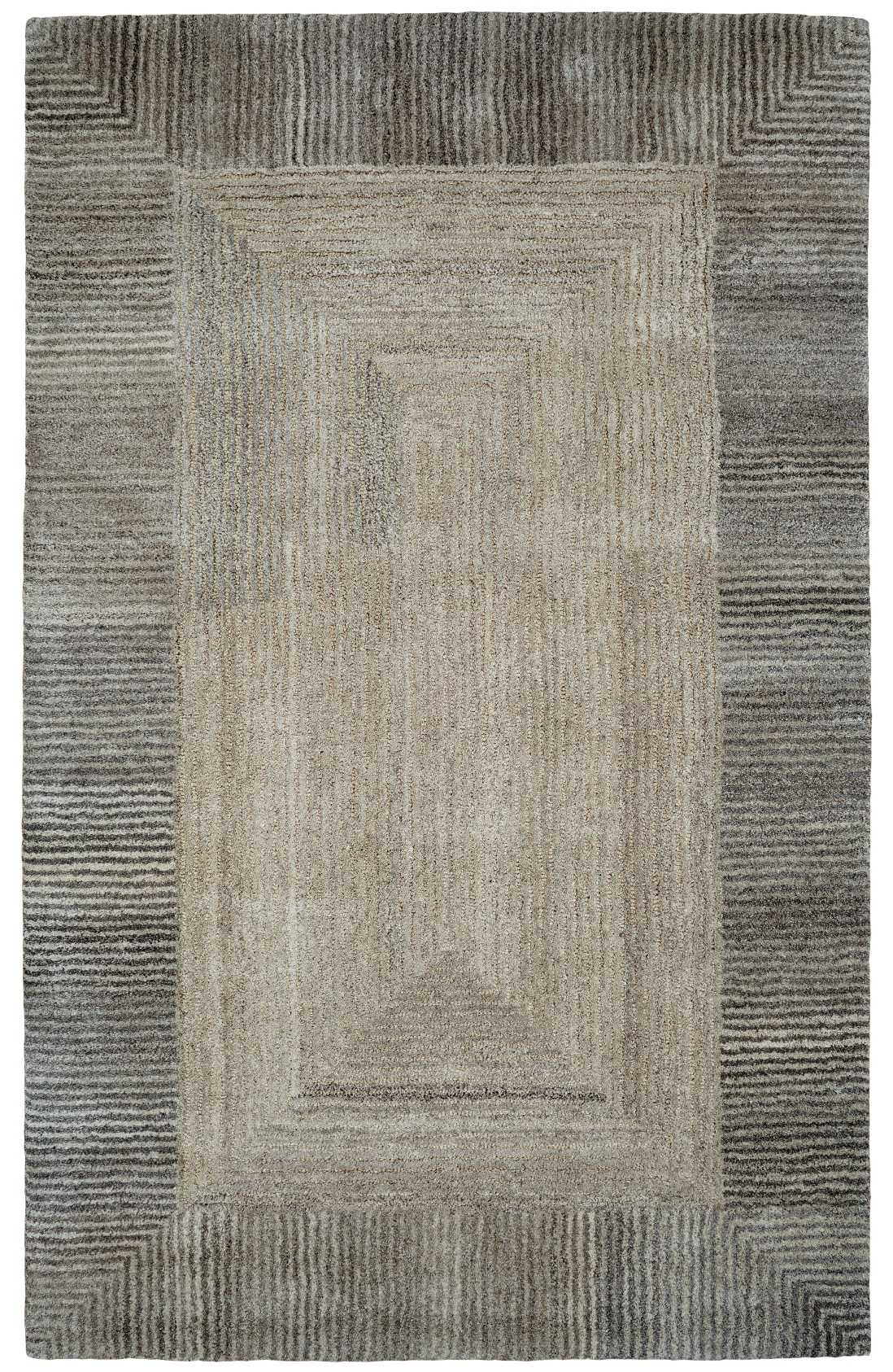 Dynamic Rugs Posh Geometric Grey 7810 Area Rug