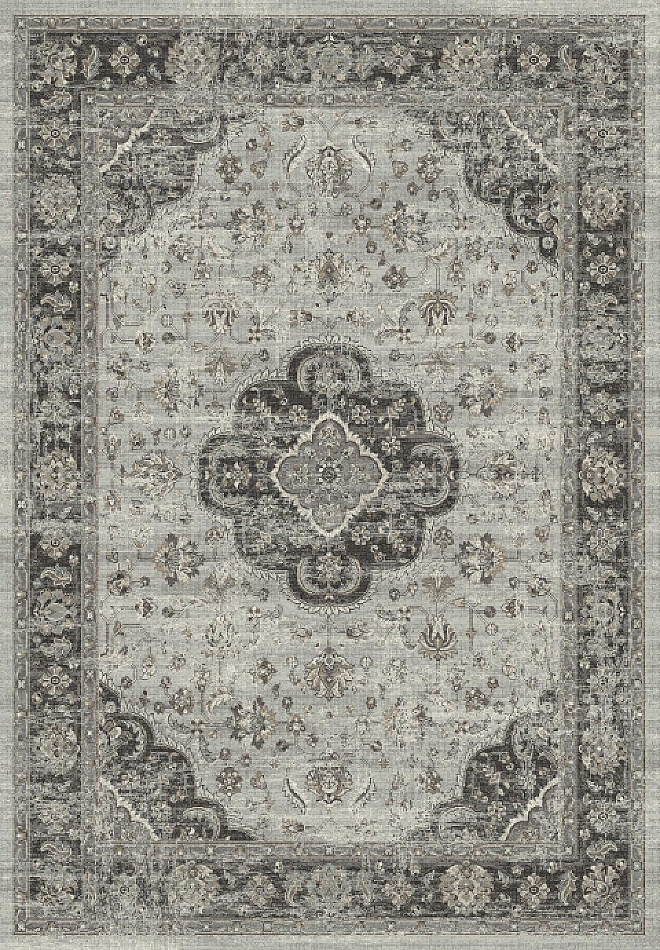 Dynamic Rugs Regal Distressed Grey 88910 Area Rug