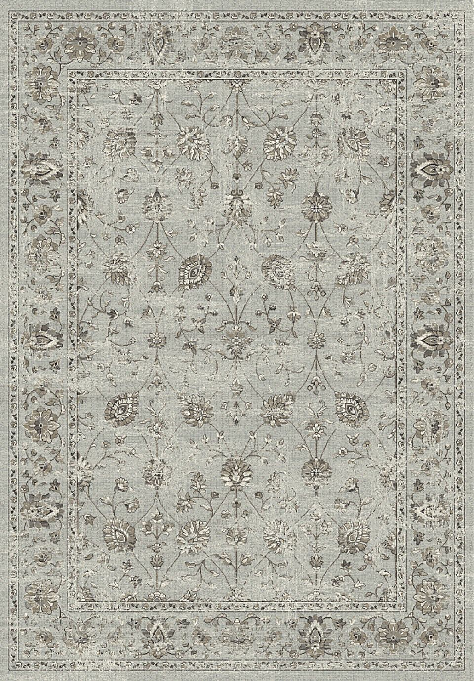 Dynamic Rugs Regal Distressed Grey 88912 Area Rug