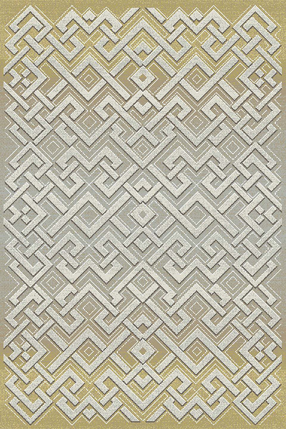 Dynamic Rugs Royal Treasure Geometric Amber/mocha 90265 Area Rug