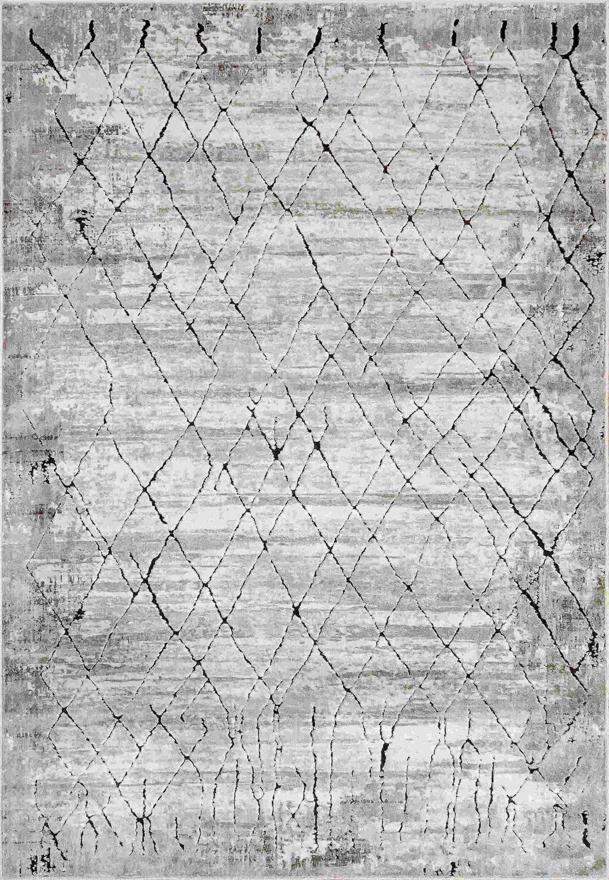 Dynamic Scout Ivory-grey Contemporary Rug 1689-190