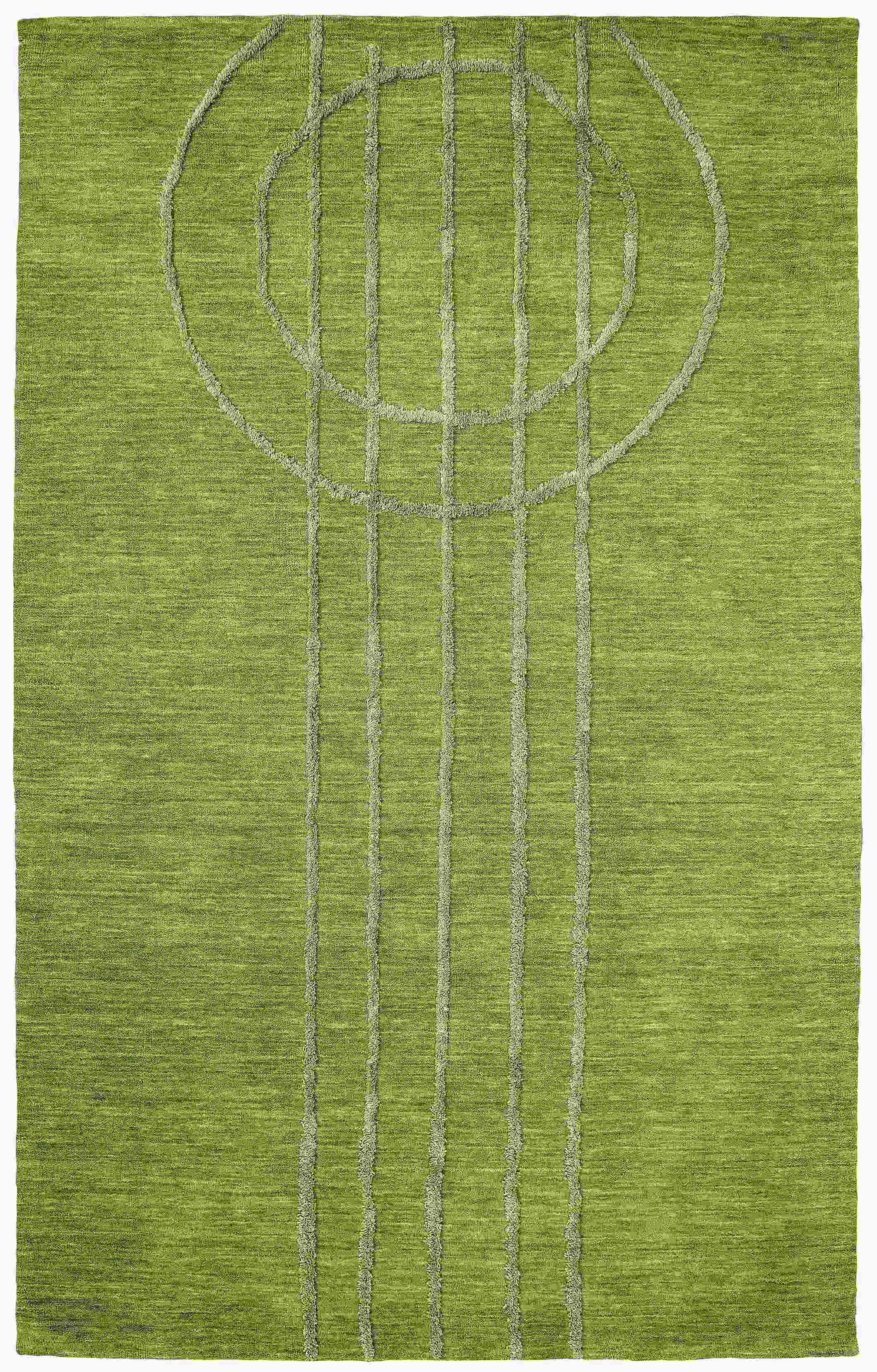 Dynamic Rugs Soho Modern Green 99101 Area Rug