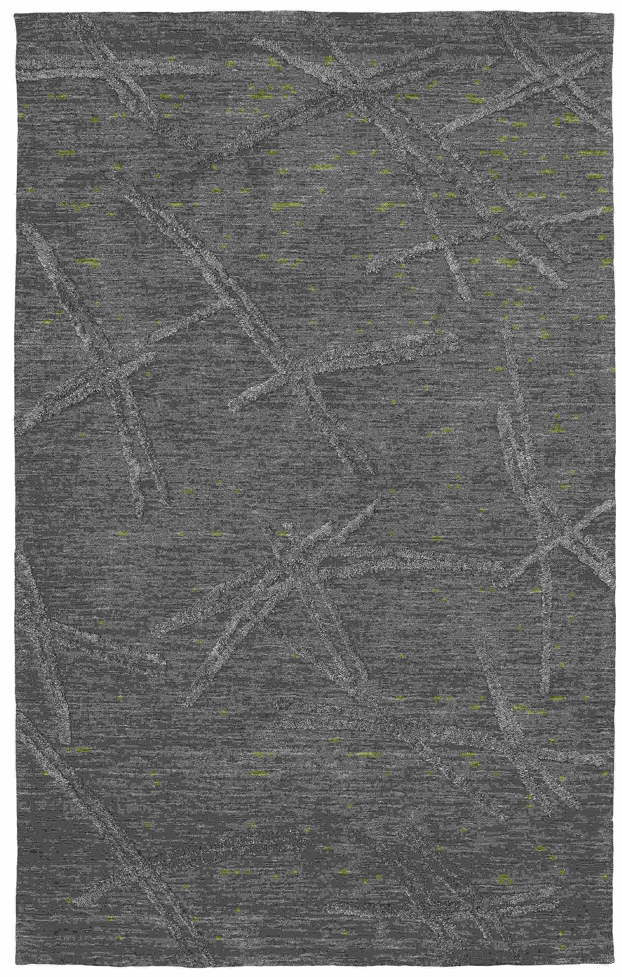 Dynamic Rugs Soho Modern Charcoal 99104 Area Rug