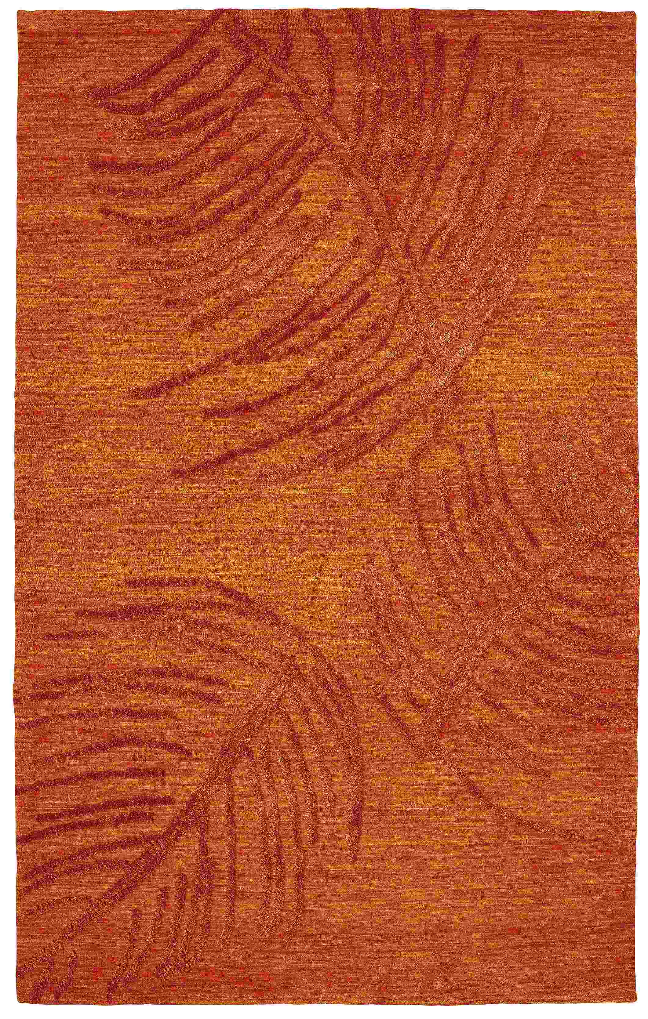 Dynamic Rugs Soho Modern Rust 99105 Area Rug