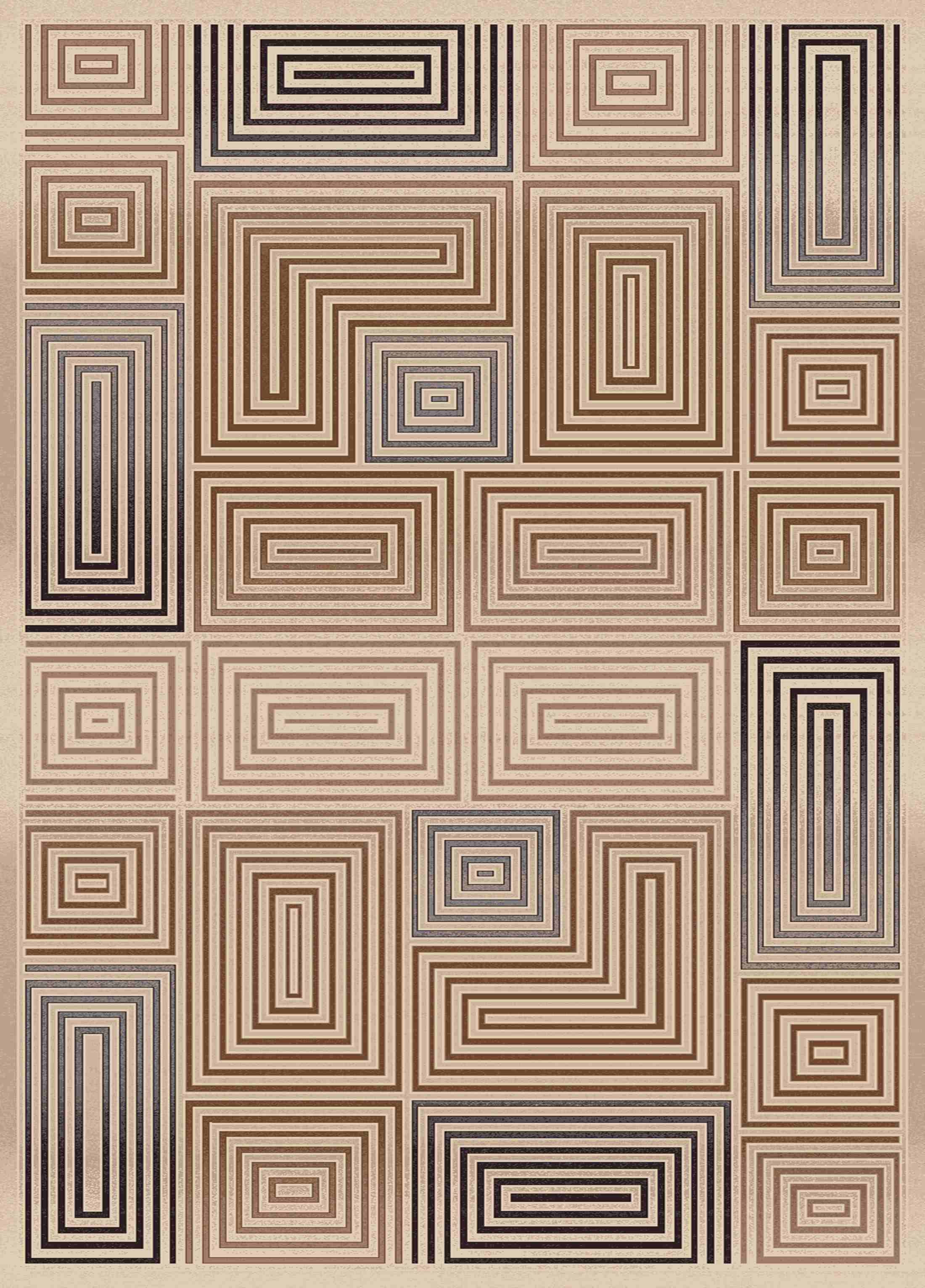 Dynamic Rugs Treasure Geometric Cream 2721 Area Rug
