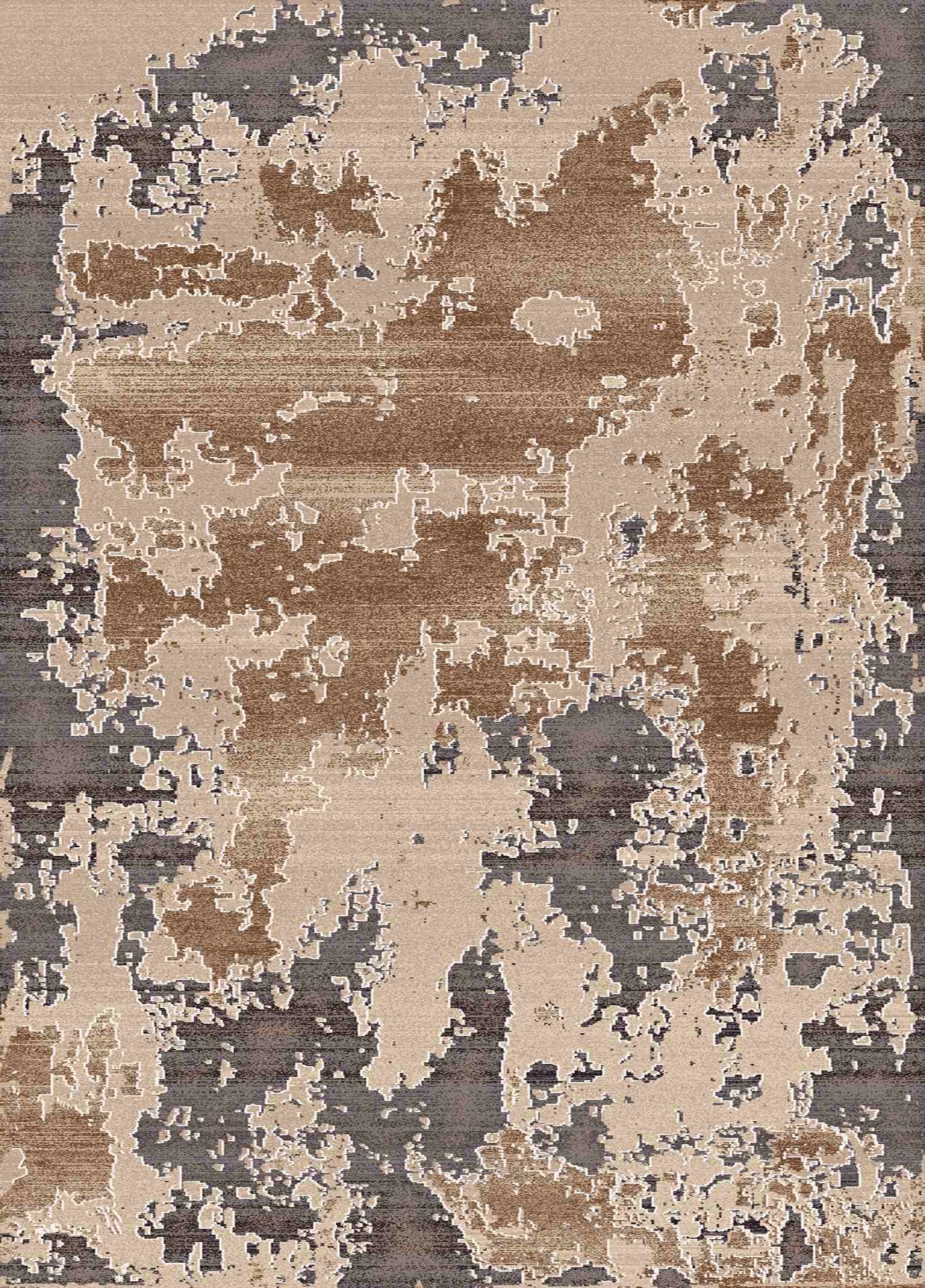 Dynamic Rugs Treasure Abstract Cream 4461 Area Rug
