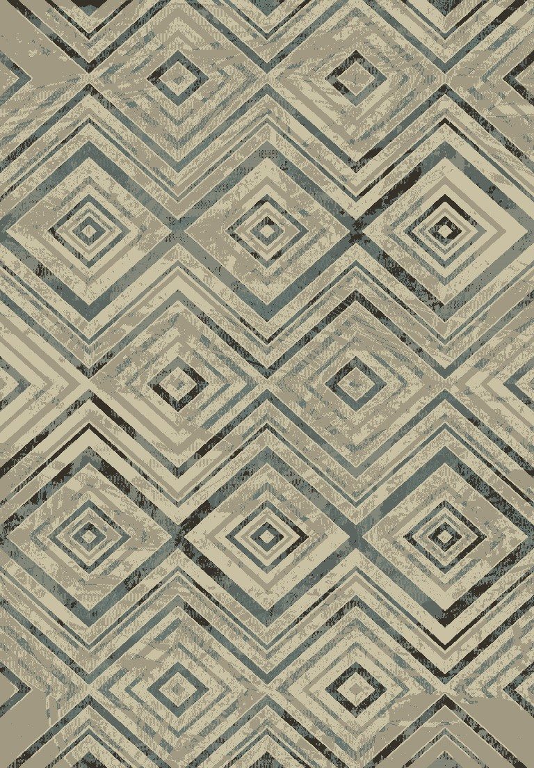 Dynamic Rugs Treasure Ii Geometric Beige 4785 Area Rug
