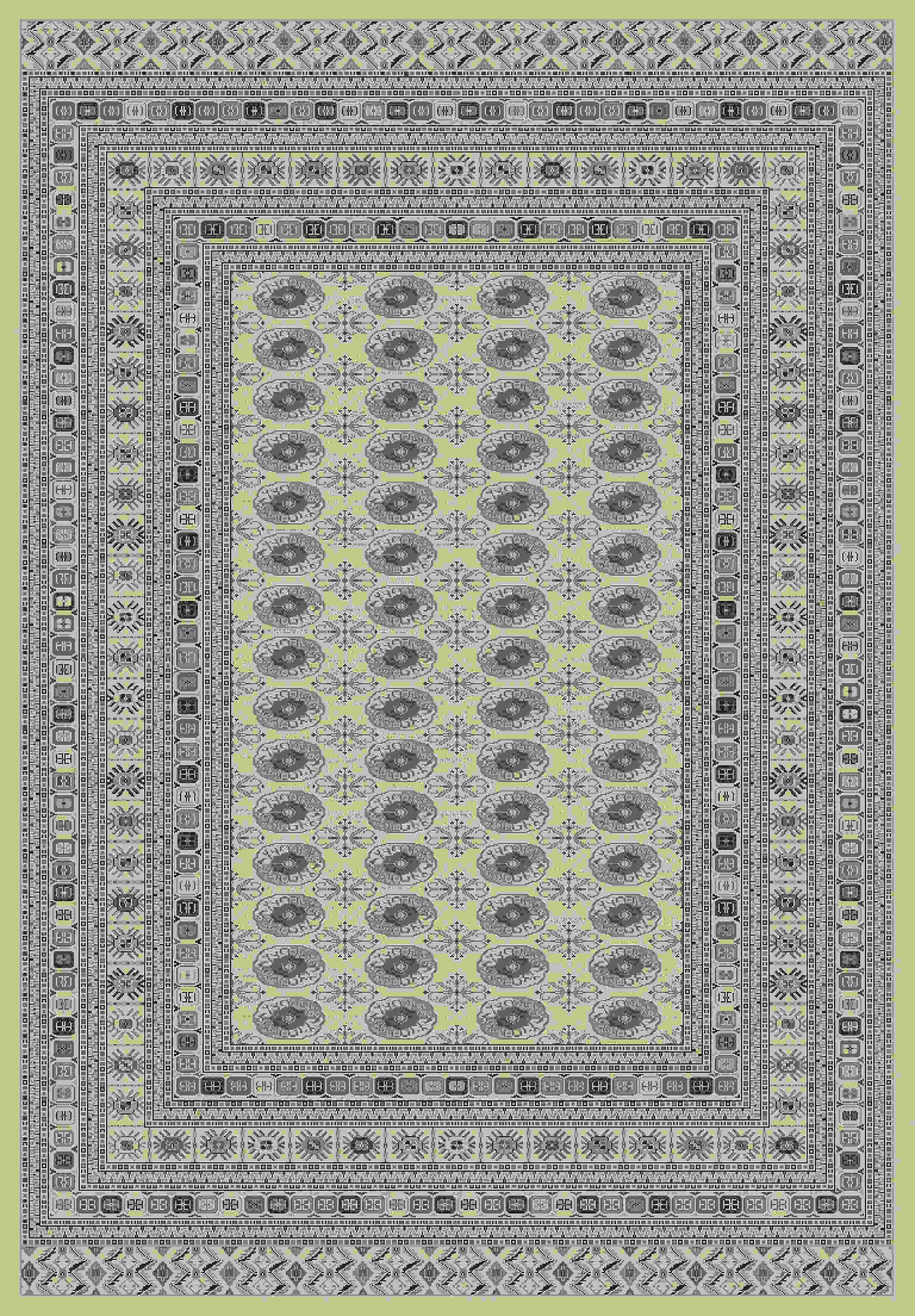 Dynamic Rugs Utopia Distressed Cream 7876 Area Rug