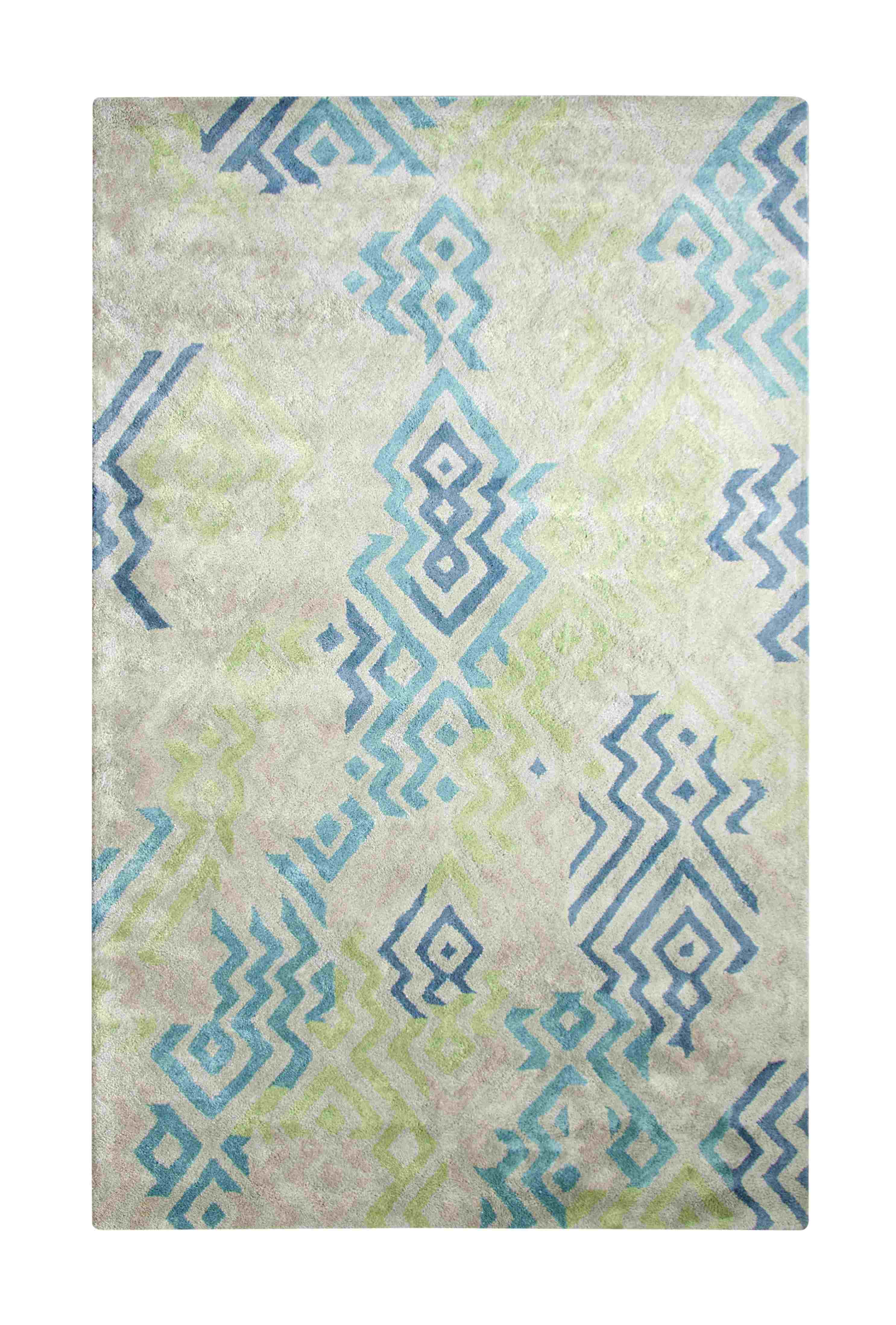 Dynamic Rugs Vogue Modern Green/blue 881000 Area Rug