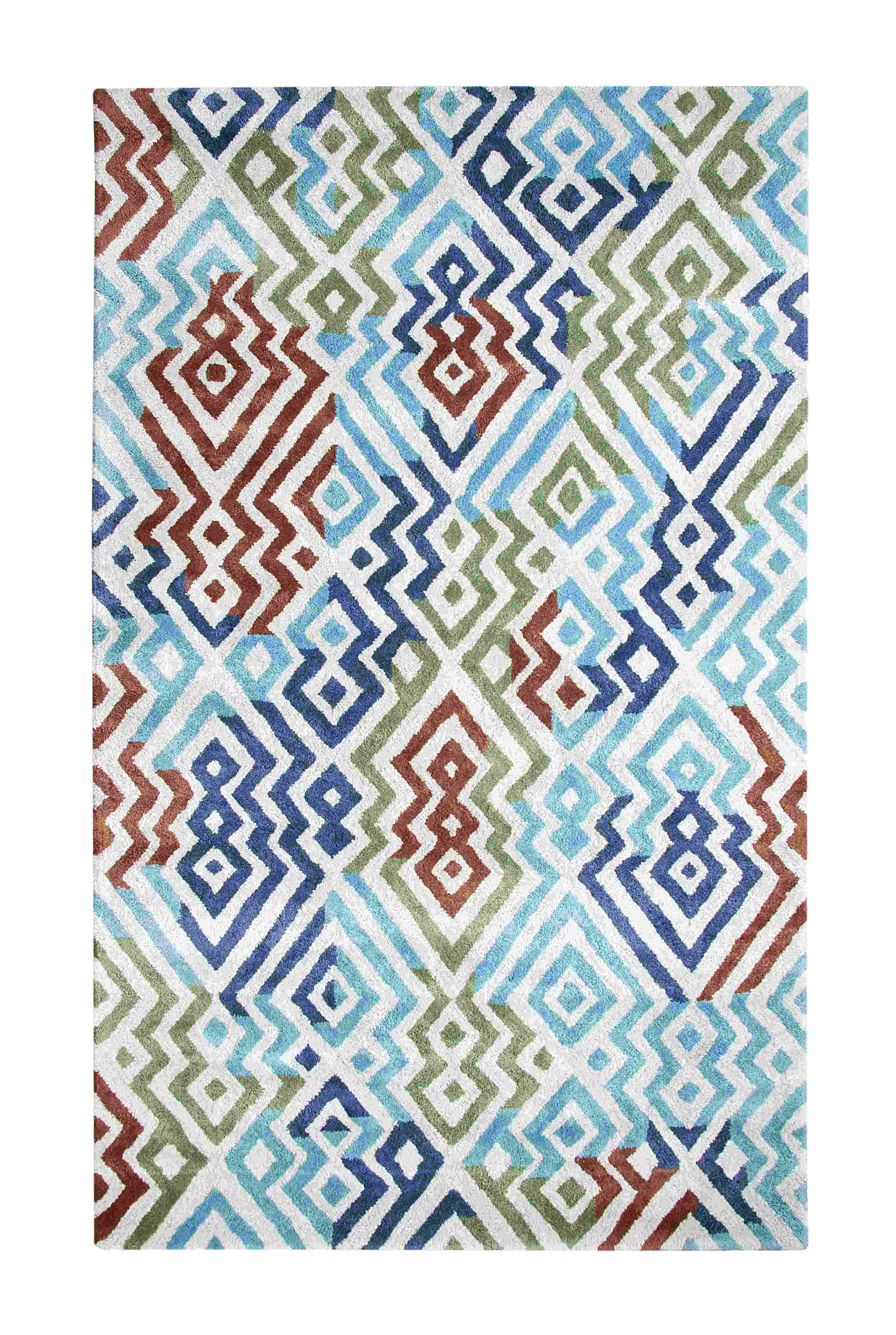Dynamic Rugs Vogue Modern Slv/tuq 881000 Area Rug