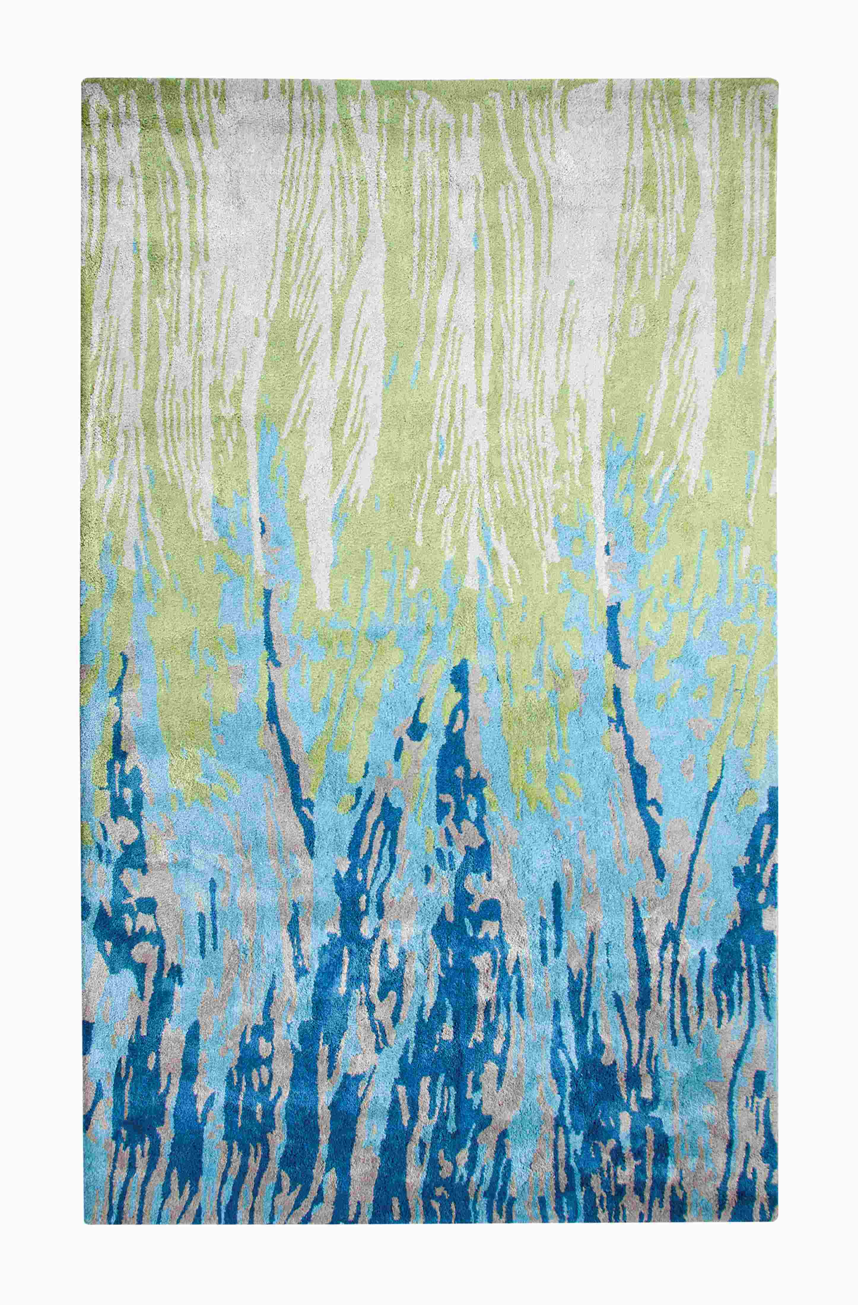 Dynamic Rugs Vogue Modern Blue/green 881001 Area Rug