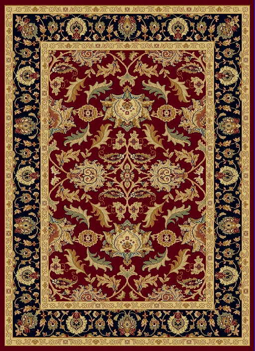Dynamic Rugs Yazd Classic Red 1744 Area Rug
