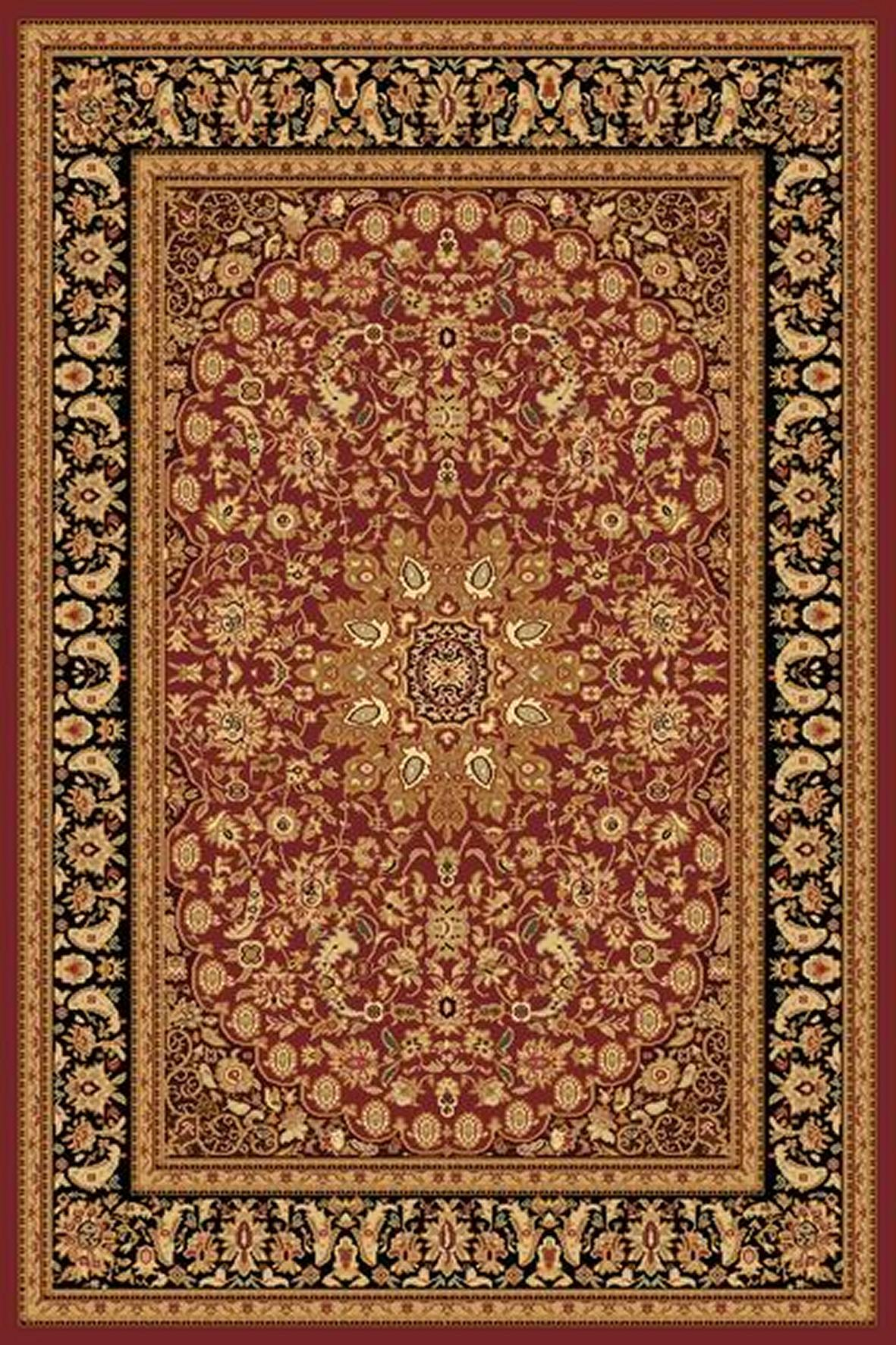 Dynamic Rugs Yazd Classic Red-black 2800 Area Rug
