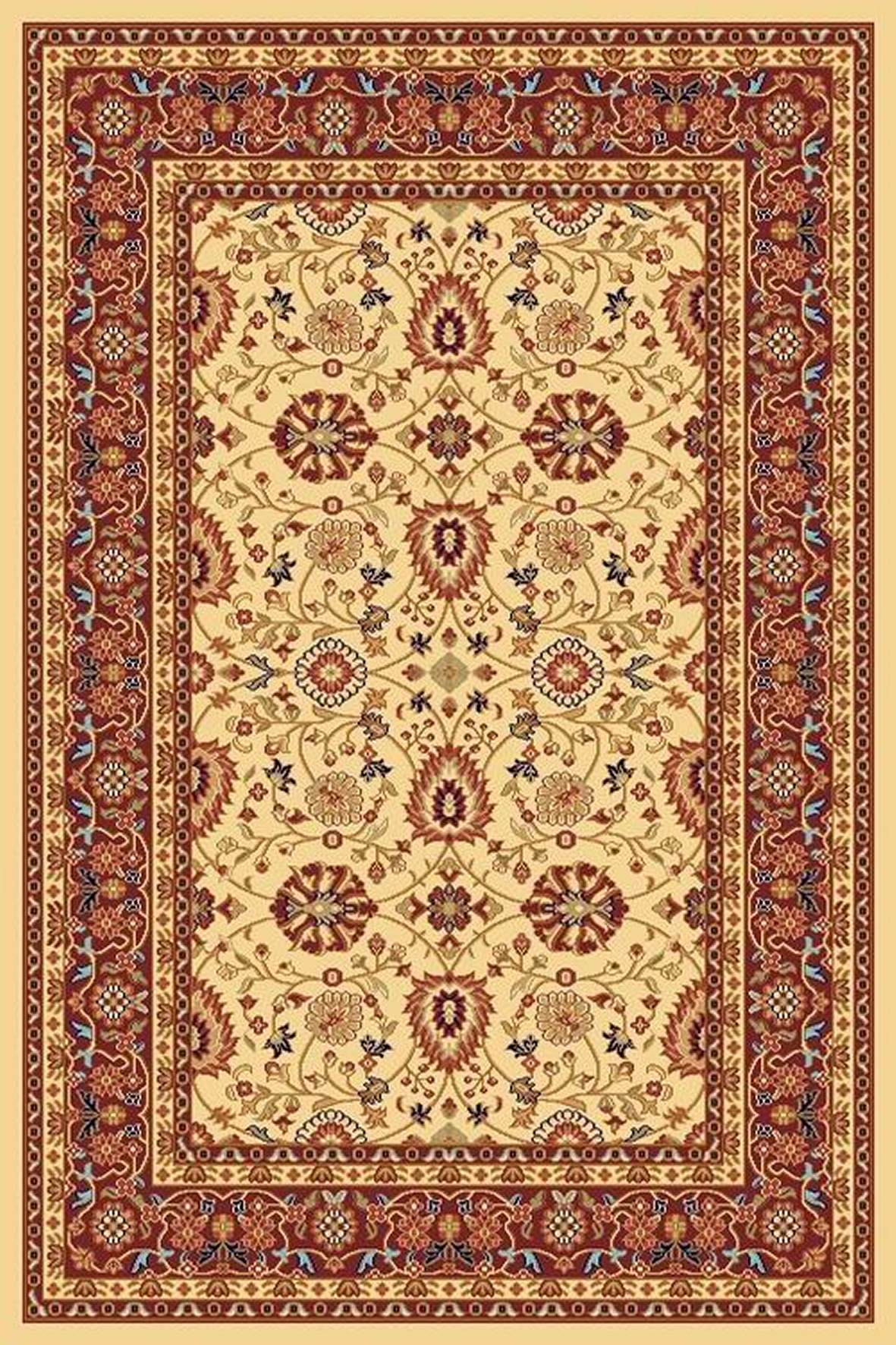 Dynamic Rugs Yazd Classic Cream-red 2803 Area Rug