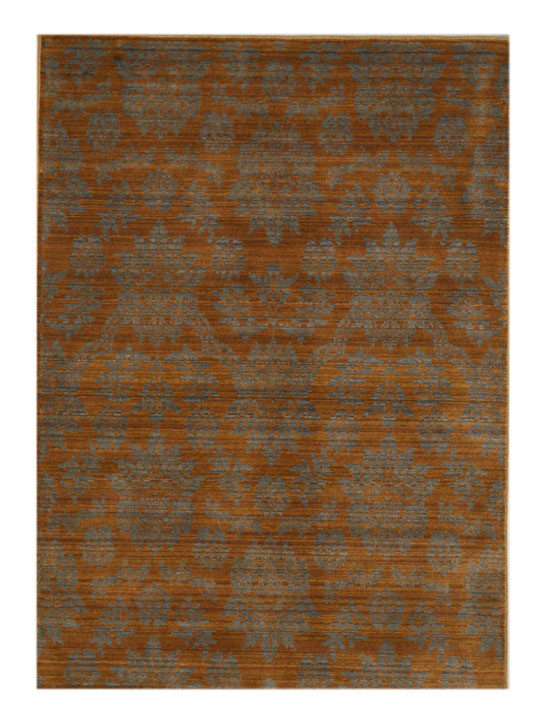Eorc H2101bn Brown Wool Himalaya Area Rug