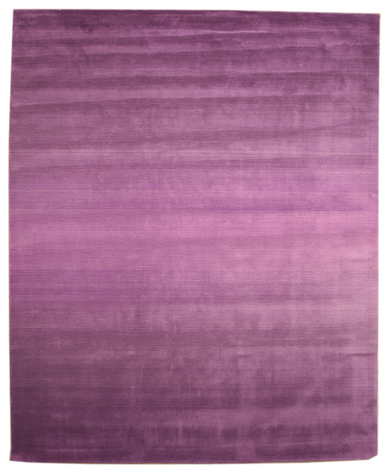 Eorc Hl1pp Purple Hand Tufted Wool Purple Horizon Rug