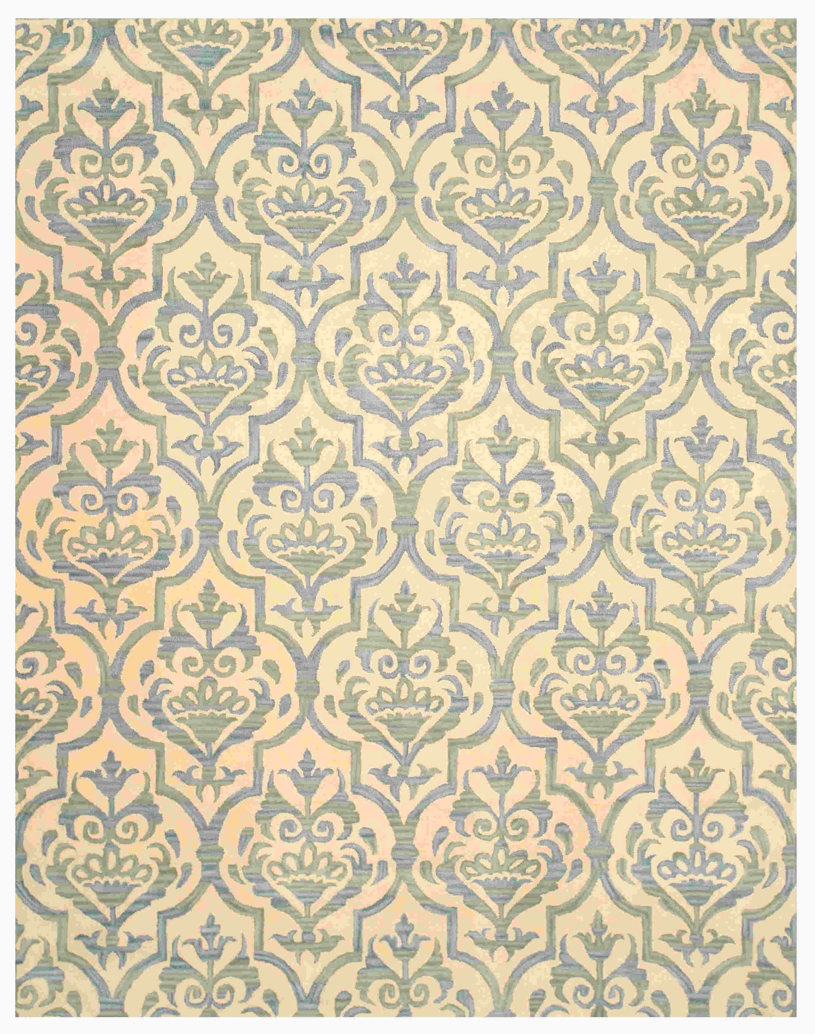 Eorc Ie46iv Ivory Hand Tufted Wool Miron Rug