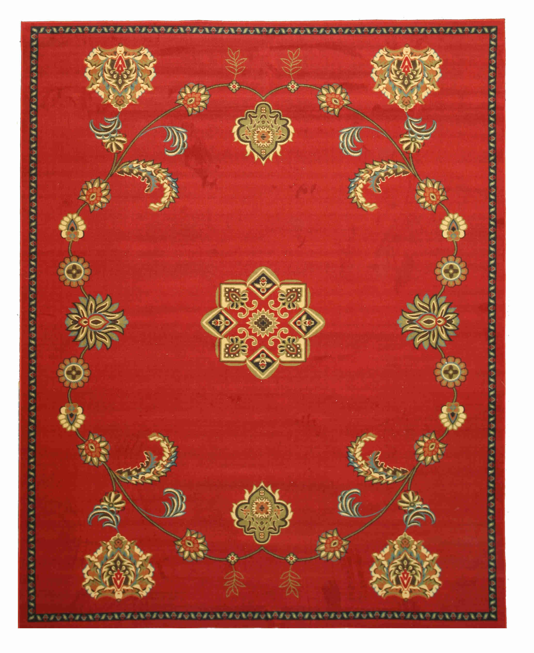 Eorc Os5110rd Red Arabella Rug