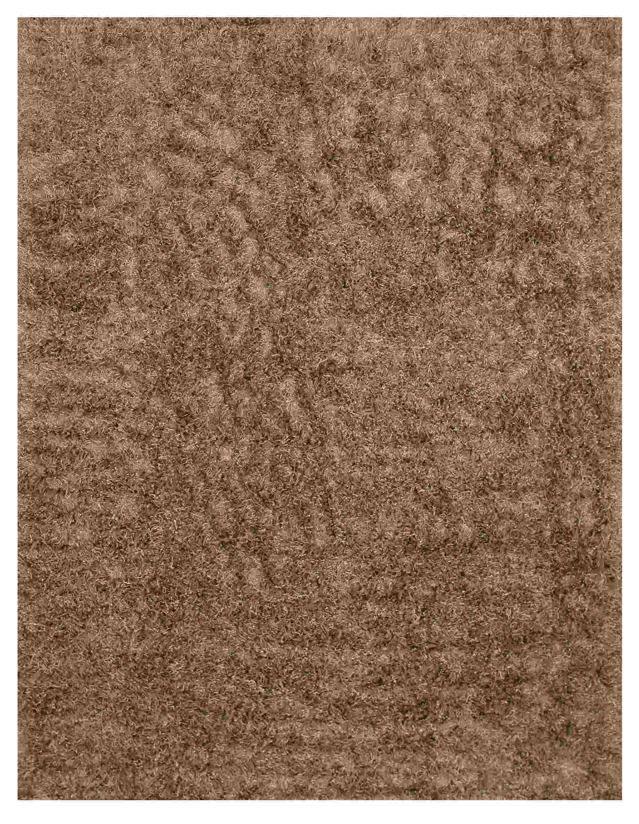 Eorc Oshg1mo Silver Handmade Wool And Viscose Shaggy Rug