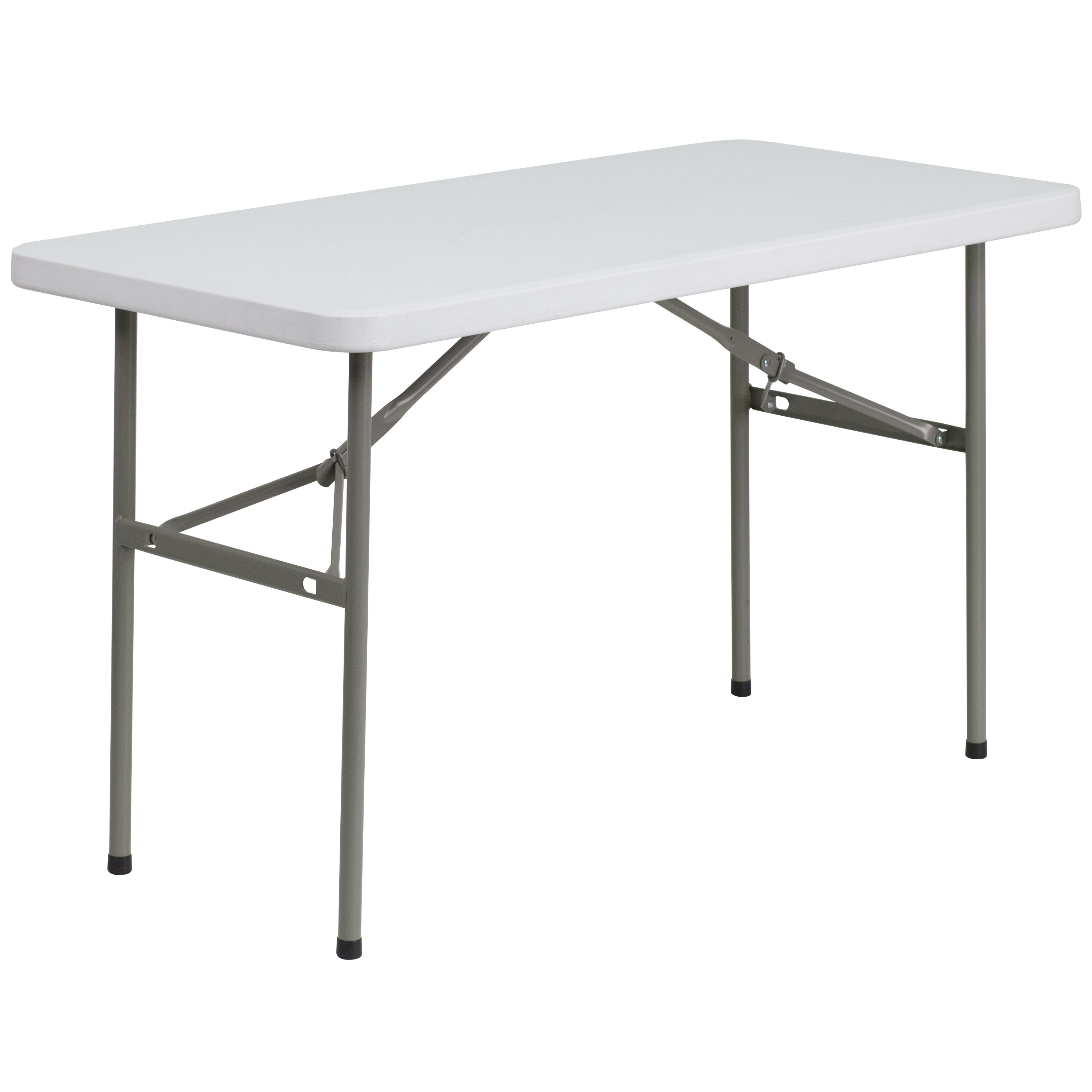 Flash Furniture  Ready To Use Commercial Table 4' Folding Table