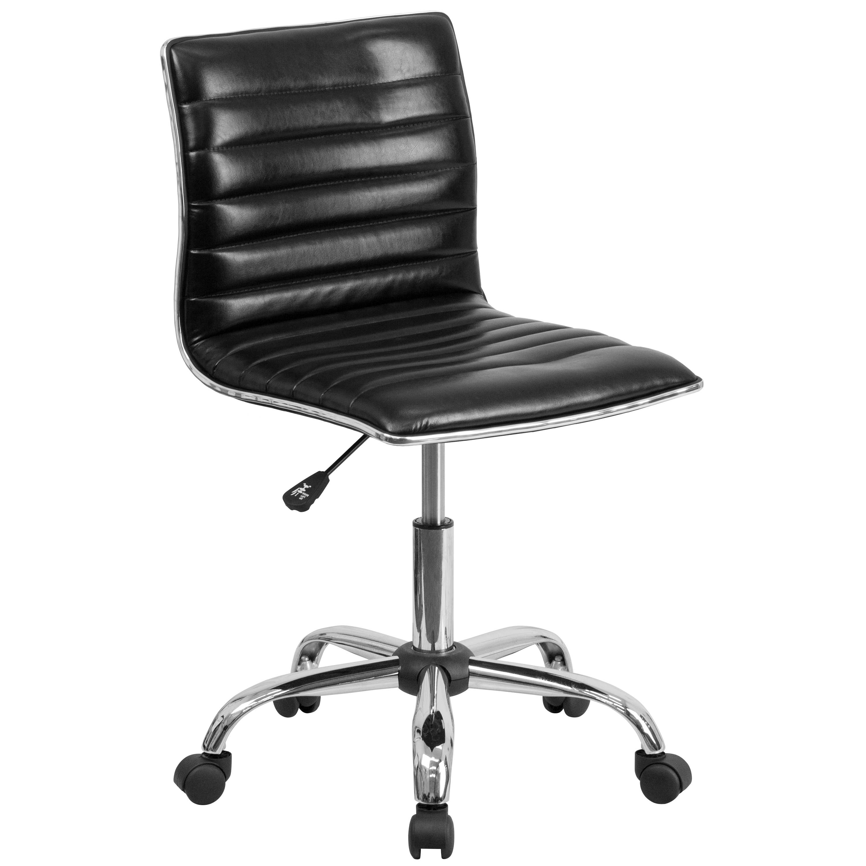 Flash Furniture  Contemporary Leather Office Chair Mid-back Design
