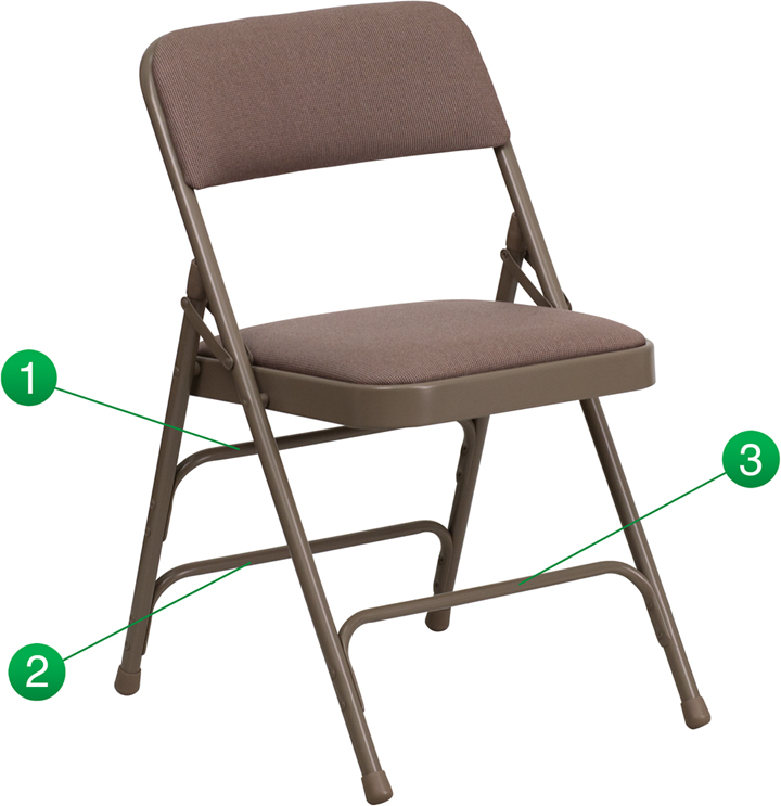 Flash Furniture Triple Braced Hercules Series Folding Chair