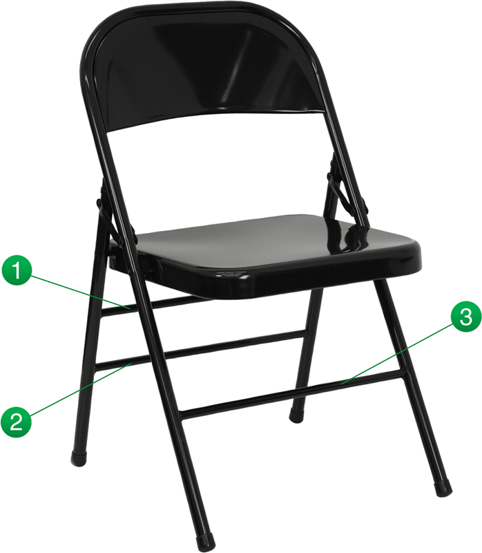 Flash Furniture  Commercial Grade Folding Chair