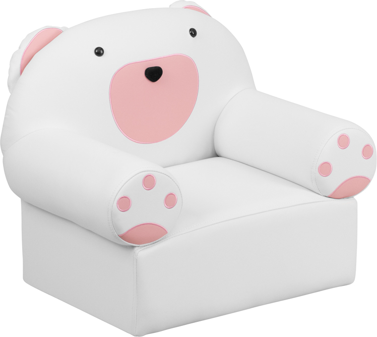 Flash Furniture  Kids Lounge Seating Bear Themed Chair