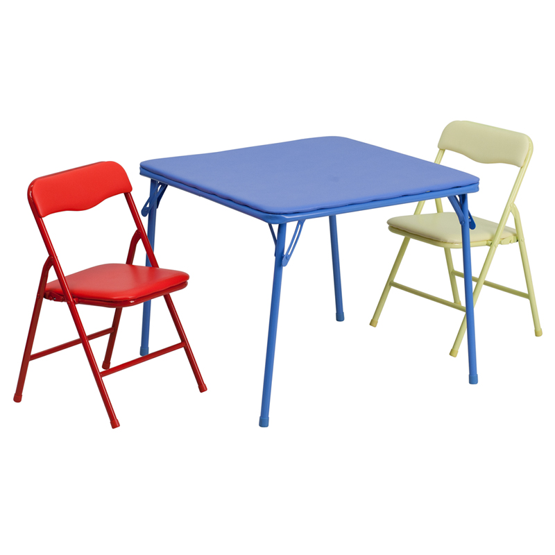 Flash Furniture  Multi-purpose Kids Table Set Easy To Move And Store