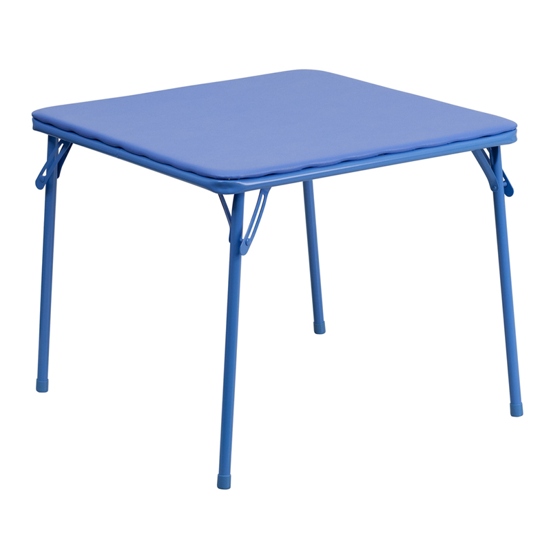 Flash Furniture  Kids Folding Table .1875'' Thick Blue Top