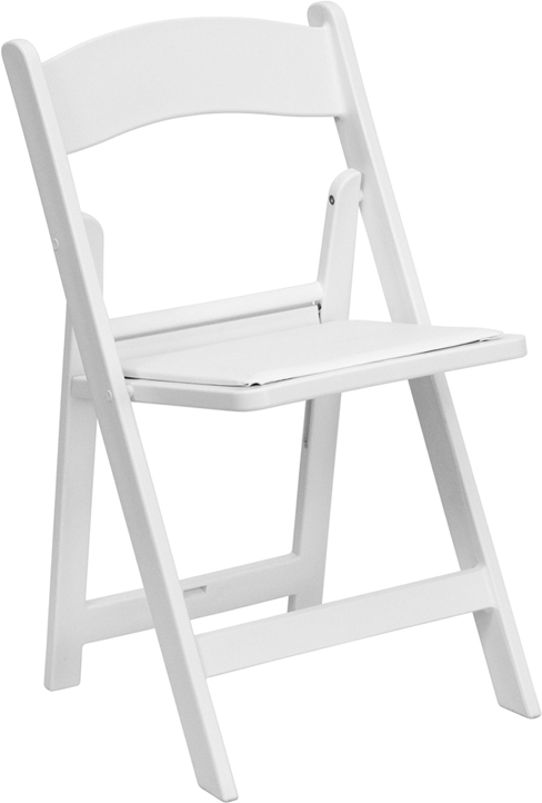 Flash Furniture  Resin Folding Chair 1000 Lb. Weight Capacity