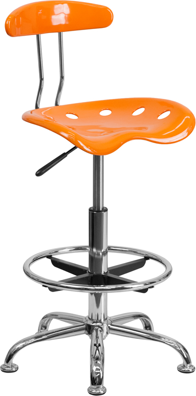 Flash Furniture  Tractor Style Draft Stool Comfort Molded ''tractor'' Seat