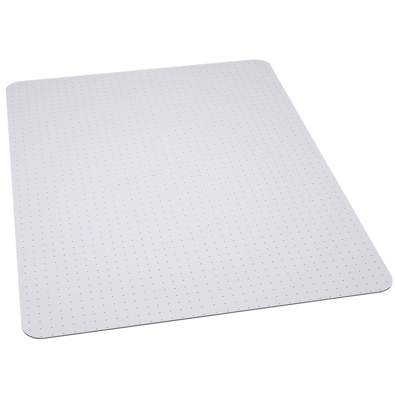 Flash Furniture  Clear Vinyl Chairmat Designed For Low Pile Carpet
