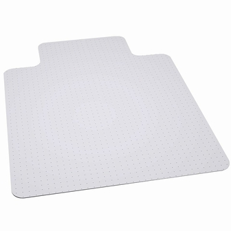 Flash Furniture  Clear Vinyl Chairmat Rated To Hold Up To 400 Lbs.