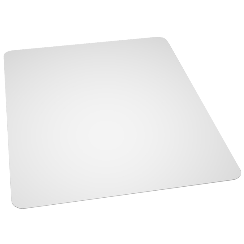 Flash Furniture  Clear Vinyl Chairmat Designed For Hard Floor Surfaces