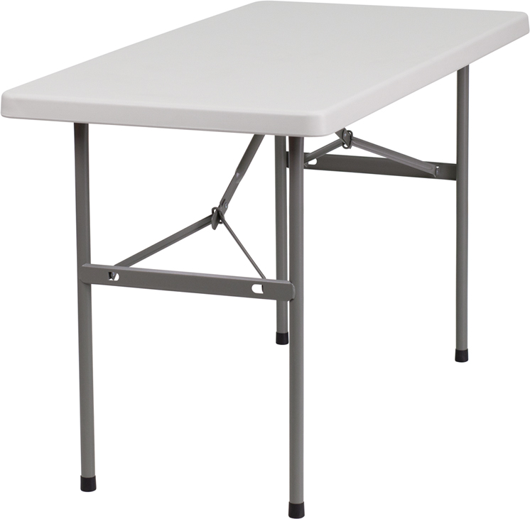 Flash Furniture  Commercial Grade Folding Table 220 Lb. Static Load Capacity