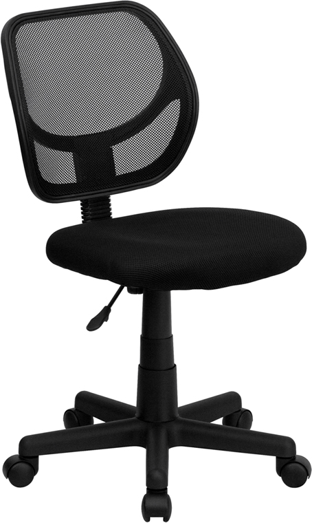Flash Furniture  Mid-back Task Chair Black Mesh Upholstery